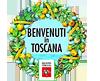 Benvenuti in Toscana. Wellcome in Tuscany. Добро пожаловать в Тоскану