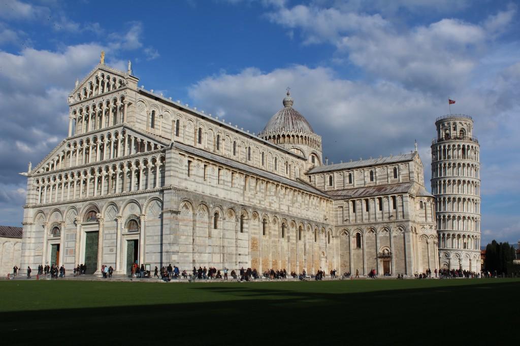 Кафедральный собор Пизы и Падающая Башня